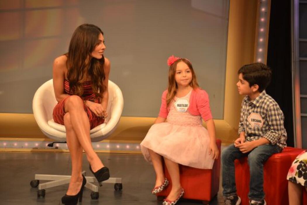 Alejandra disfrutó muchísimo su conversación con estos pequeñines y sabe...