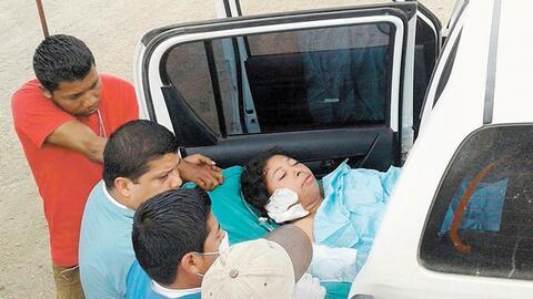 Vilma Trujillo García fue hallada 30 horas en un barranco, atada...