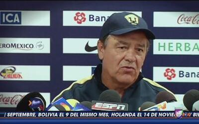 José Luis Trejo: 'El objetivo es ganar'
