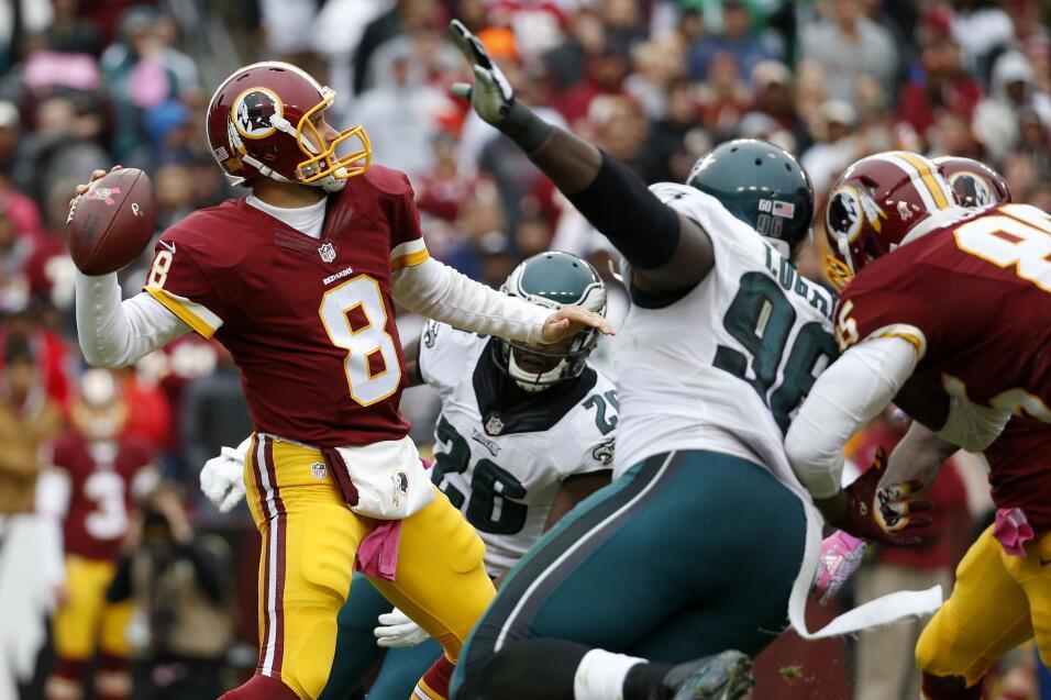 Cousins llevó a la victoria a los Redskins en los últimos momentos del p...