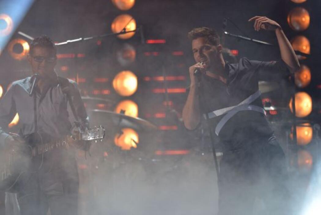 Ricky Martin viajó desde Australia para asistir al evento más importante...