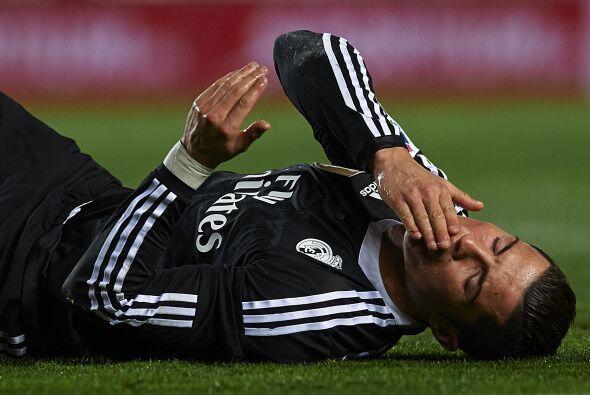 Cristiano Ronaldo tuvo dos jugadas claras para abrir el marcador en la p...