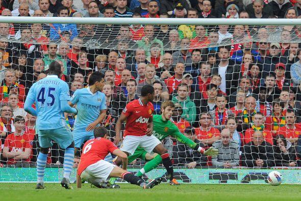 El United recibí al City en Old Trafford y los visitantes se adel...