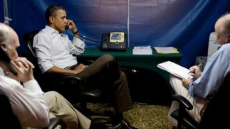 En un viaje a América Latina en 2011, Obama habló desde una carpa de seg...