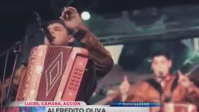 Atentado contra el cantante Alfredito Olivas