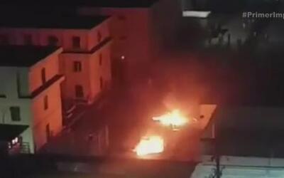 Envuelta en llamas quedó una cárcel en México tras un violento motín