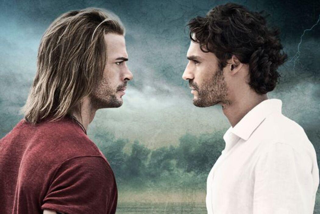 Cuando una telenovela hay dos actores guapos y exitosos como Iván Sánche...