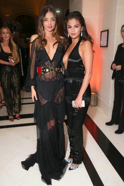 Sin embargo, sí la vimos con Miranda Kerr, la modelo que supuestamente c...