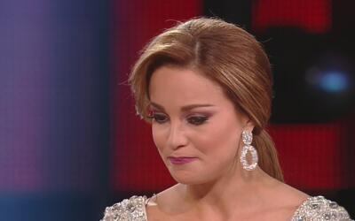 Ligia derramó lágrimas al hablar del secuestro de su madre