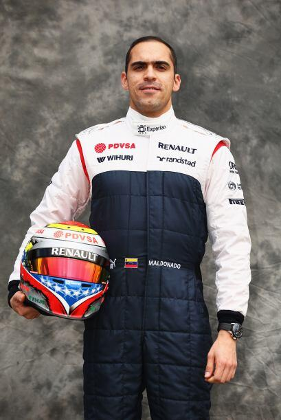 Pastor Maldonado, Venezuela, Williams-Renault.