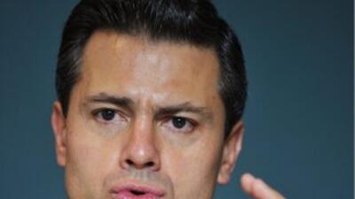 Además del combate al narcotráfico, Peña Nieto afirmó que pondrá énfasis...