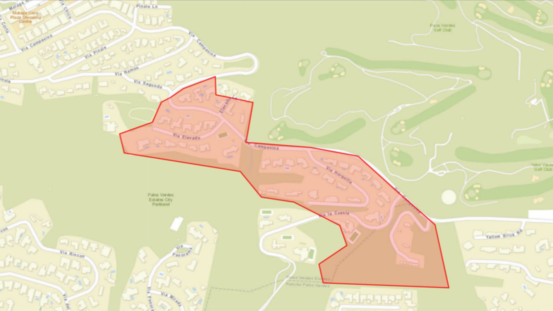 Se le pidió a los habitantes de Palos Verdes no utilizar agua potable.