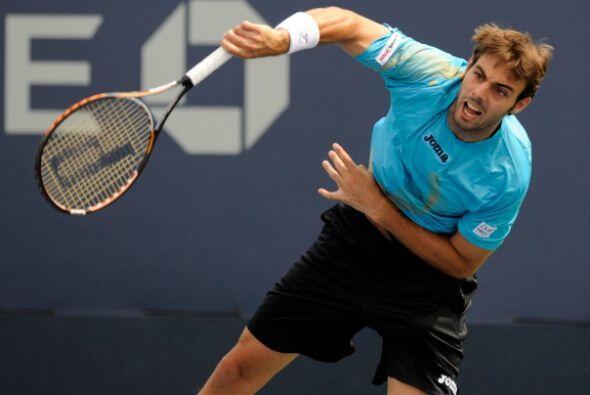 El español Marcel GRanollers fue uno de los tenistas que elev&oac...