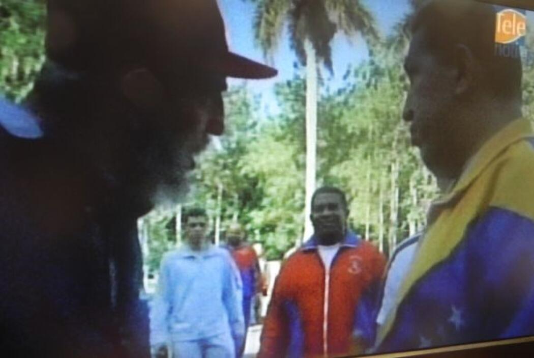 30 de junio de 2011. Desde La Habana, Hugo Chávez, de 56 años, admitió q...