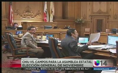 Chiu vs. Campos para la asamblea estatal; avanzan a las elecciones de no...