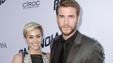 Liam Hemsworth confesó que no está comprometido con Miley Cyrus
