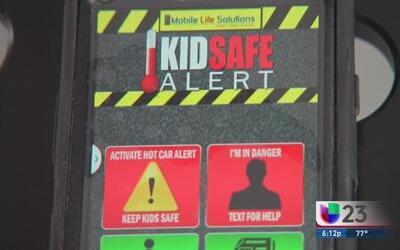 Kids Safe Alert, app para evitar que olvide a su niño en el auto