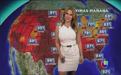 El termómetro marca elevadas temperaturas en gran parte del país