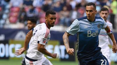 Blas Pérez se vistió de héroe para Vancouver.