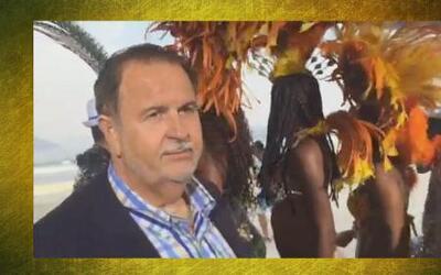 Raúl de Molina ha perdido peso en Brasil bailando mucha samba