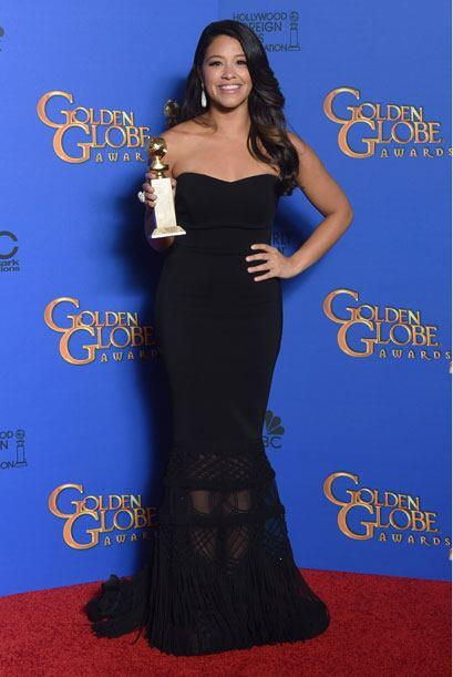Gina Rodriguez triunfó como Mejor Actriz de Comedia en TV por 'Jane the...