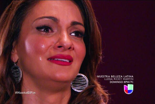 A pesar de las mentiras de Silvana, fuiste capaz de perdonarla.