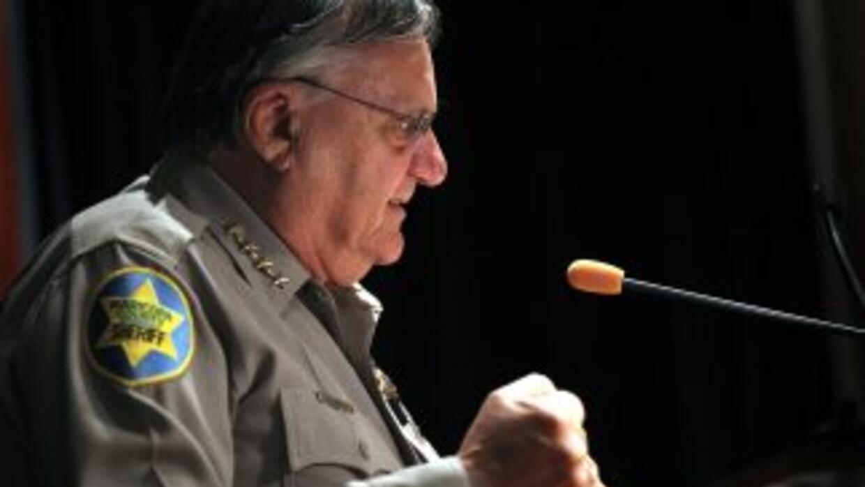 El Alguacil del Condado Maricopa, Arizona, Joe Arpaio, se hizo famoso po...