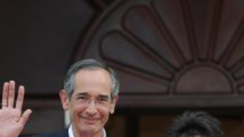El presidente guatemalteco, Alvaro Colom admitió que su esposa Sandra To...