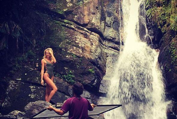 Los increíbles escenarios naturales le dieron un toque mágico a las foto...