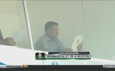 Juan Carlos Osorio regresó al trabajo en México