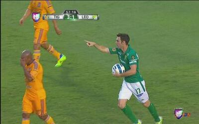 Tigres vs León: Mauro Boselli marca el segundo gol para León
