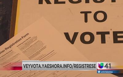El voto hispano puede lograr la diferencia en las elecciones