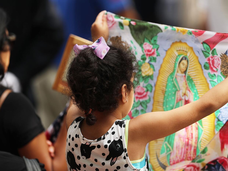La Virgen de Guadalupe, presente en el decimoquinto aniversario del ataq...