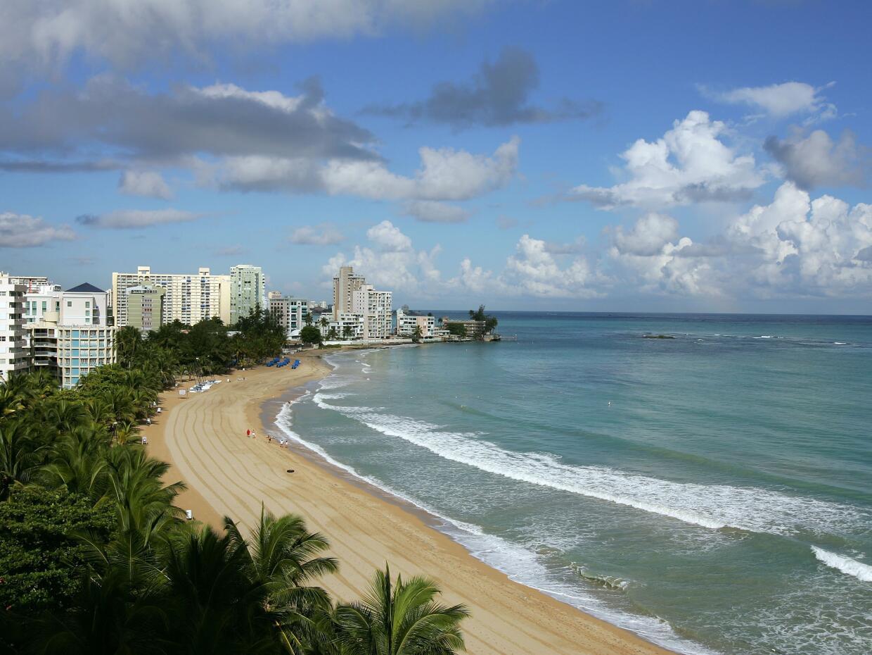 Playa de Isla Verde, Puerto Rico