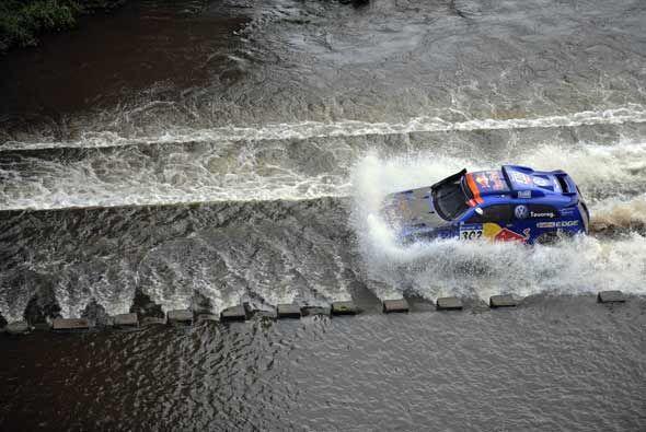 Sainz ganó la versión del 2010 y el domingo salió decidido para buscar o...