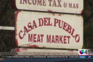 Otra carnicería hispana fue blanco de los ladrones