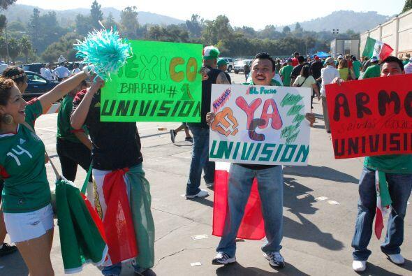 Univision y UnivisionDeportes.com son los canales de comunicación...