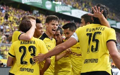 El Borussia Dortmund no tuvo piedad en su presentación en la Bundesliga.