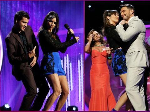 Quedó comprobado que cuando se trata de bailar nuestra Gigi es pu...