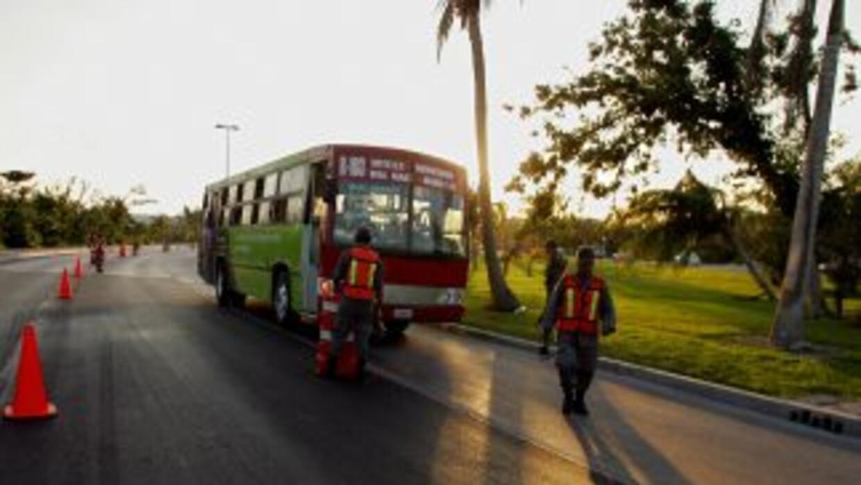El jefe de la policía turística de Playa del Carmen, una popular destino...