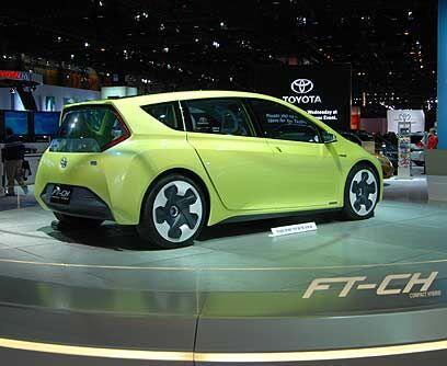 Toyota FT-CH ConceptToyota puede estar pasando por un mal momento debido...