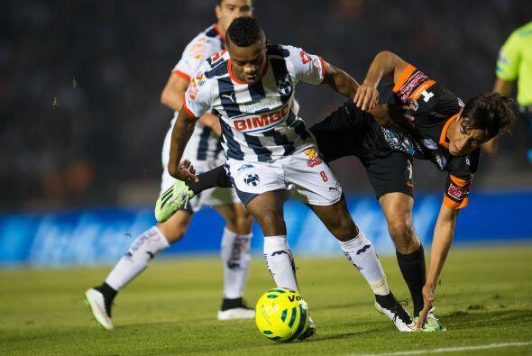 En el actual torneo Pabón lleva jugados 394 minutos con Rayados lo que e...