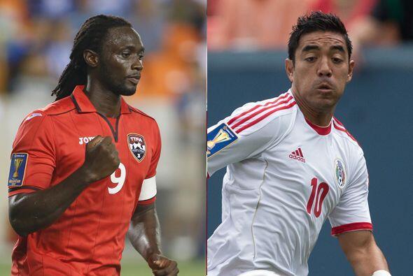 El segundo partido enfrenta a México contra Trinidad y Tobago, en...