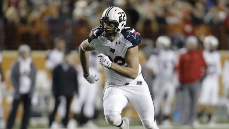 Jace Amaron, ala cerrada de Texas Tech, es uno de los 98 jugadores con e...