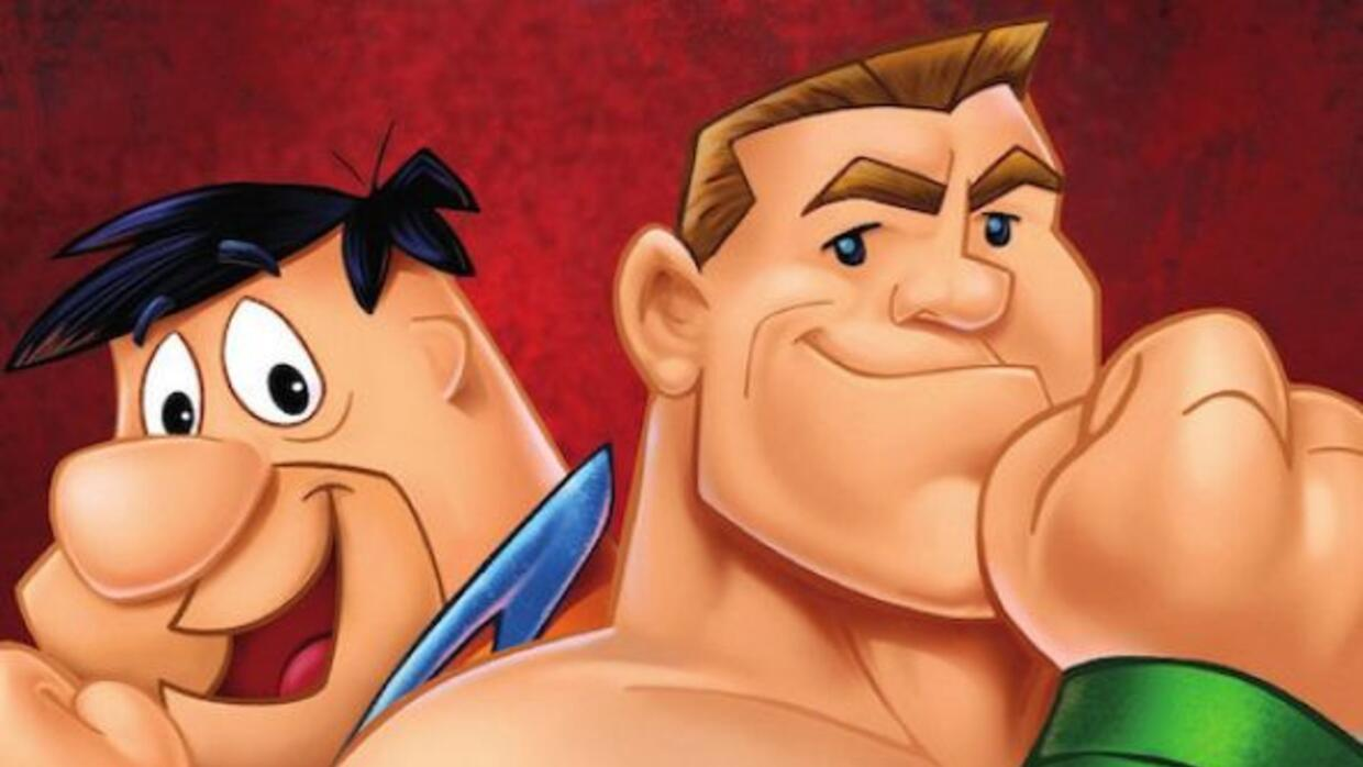 'The Flinstones and WWE Stone Age Smackdown', se llama la cinta.