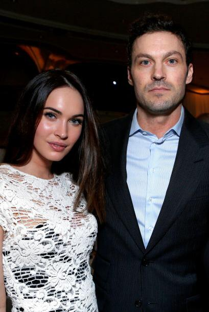 Megan Fox y Brian Austin Green Ellos se conocieron en 2004, cuando ella...