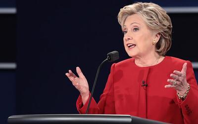 """Hillary Clinton a Donald Trump: """"Me he estado preparando para ser presid..."""
