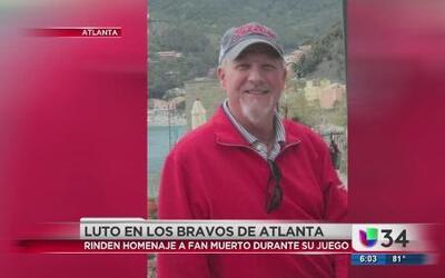 Fan murió en estadio de los Bravos de Atlanta