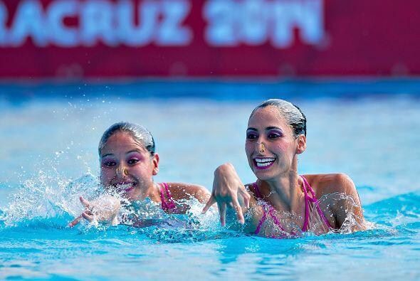 Nuria Diosdado y Blanca Isabel Delgado se coronaron en la rutina de duet...