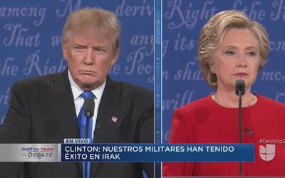 Completo: el primer debate presidencial entre Hillary Clinton y Donald T...